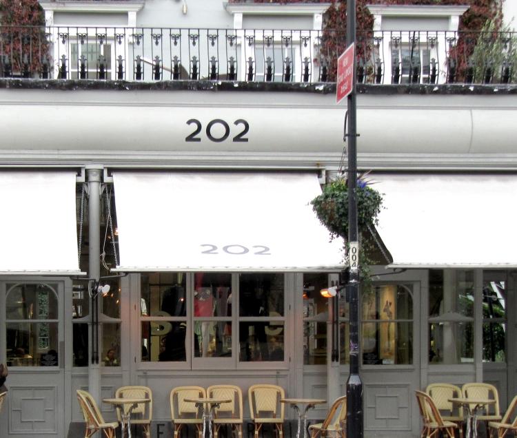 202 café london