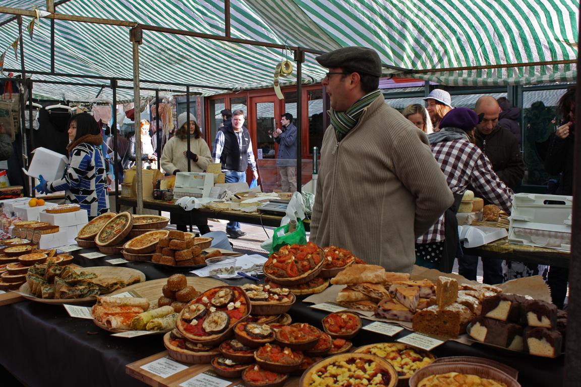 Broadway Market Food Stalls