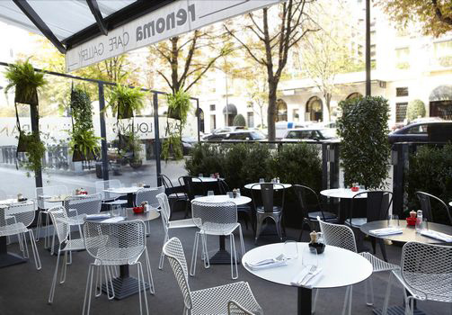 Renoma café gallery paris terrasse