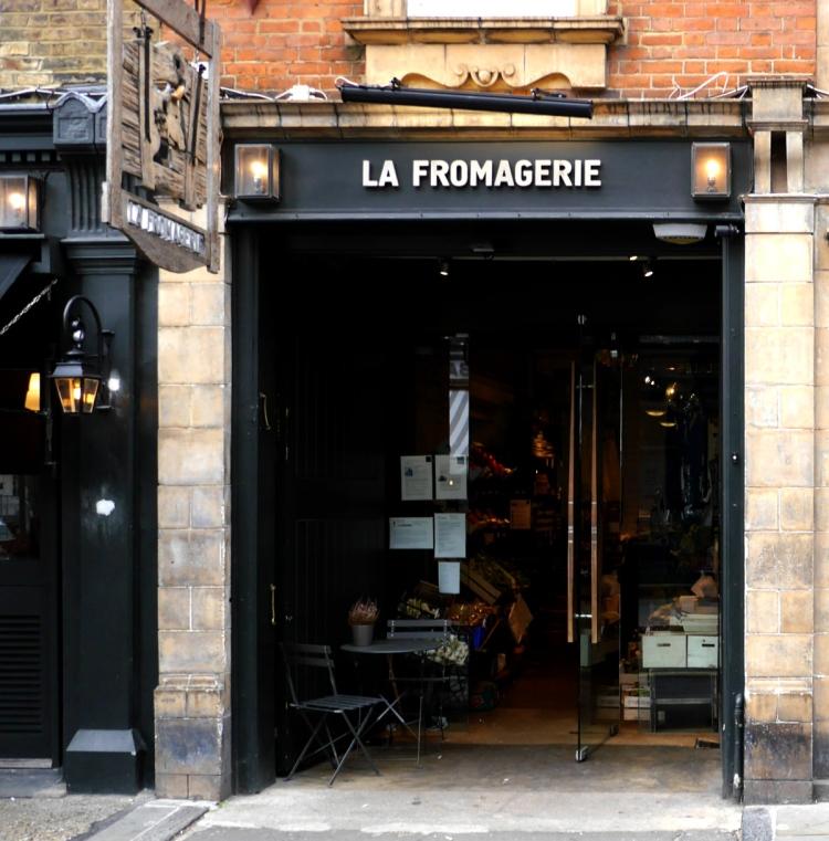 la fromagerie entrance london