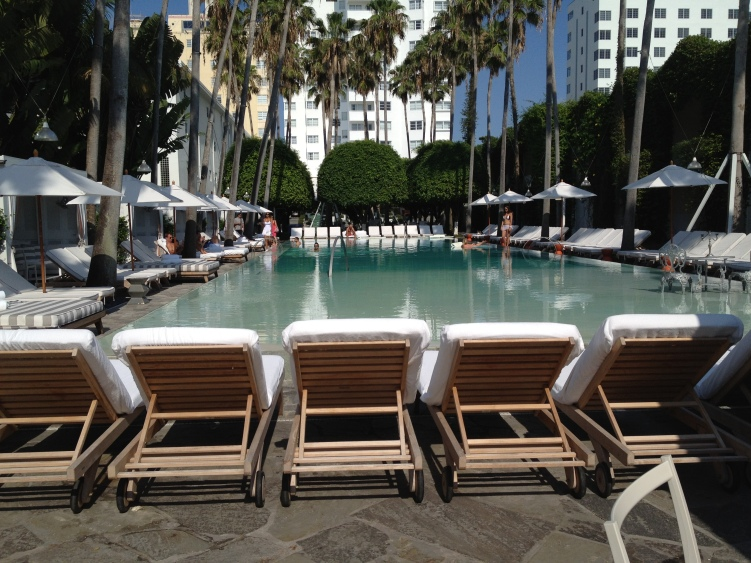 Delano Hotel pool 2