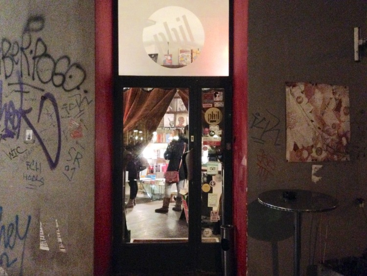 Café Phil Vienna entrance