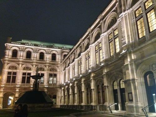 Opera Vienna by Night