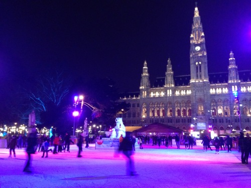 Rathauspark Vienna